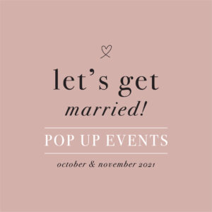 let's get married pop up events